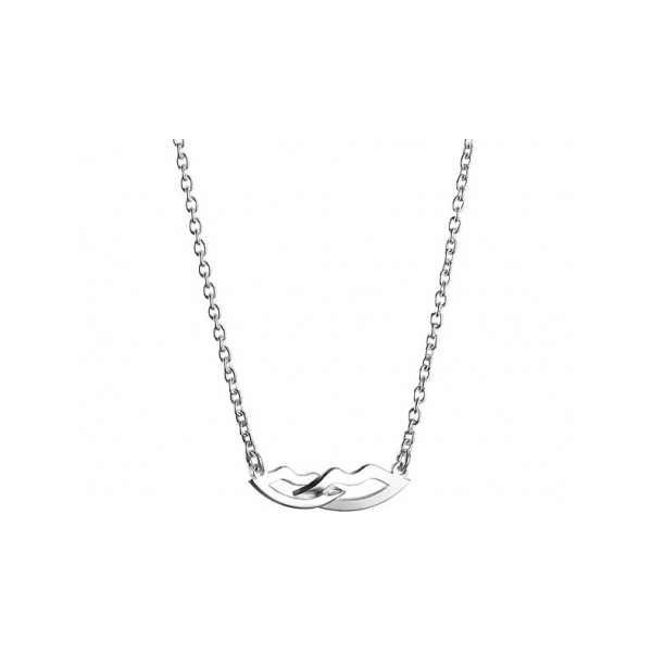 Designer: Efva Attling<br/>Style: Girl Crush Necklace<br/>Metal: Sterling silver, high polish<br/>Pendant Dimensions: 0.25 x 0.75 inches<br/>Length: adjustable 16.5 - 18 inches