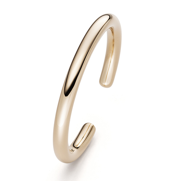 Designer: Isabelle Fa<br/>Style: 'Flix-Flex' Bracelet<br/>Metal: 18-karat yellow gold; high polish; 5mm wide; round profile<br/>Size: Large